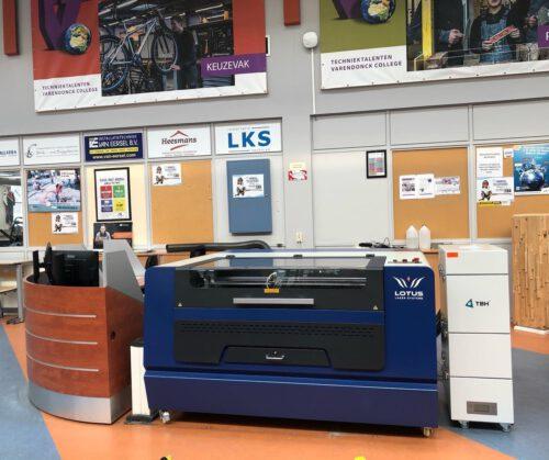 Lasersnijder Varendonck College